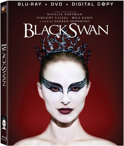 Black Swan Portman Kunis Cassel Blu Ray DVD Digital Copy