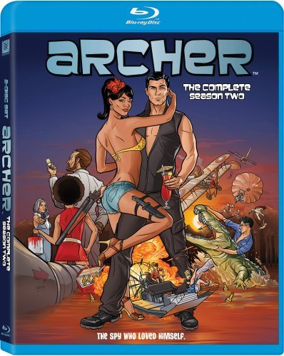 Archer Season 2 Blu Ray Nr