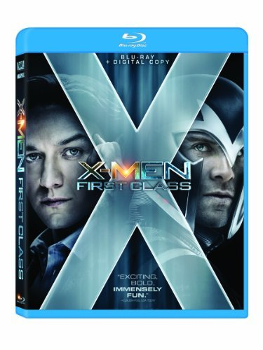 X Men First Class Mcavoy Fassbender Blu Ray Ws Pg13 Incl. Dc