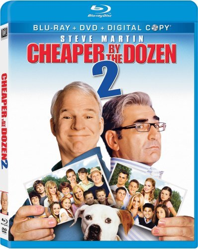 Cheaper By The Dozen 2 Cheaper By The Dozen 2 Blu Ray Ws Pg Incl. DVD Dc
