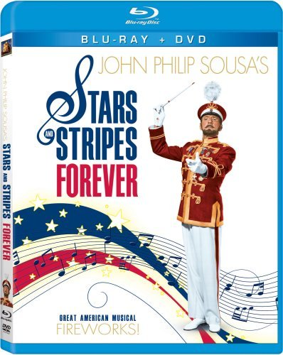 Stars & Stripes Forever Webb Wagner Paget Hussey Blu Ray DVD Nr