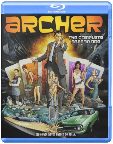 Archer Season 1 Blu Ray Nr