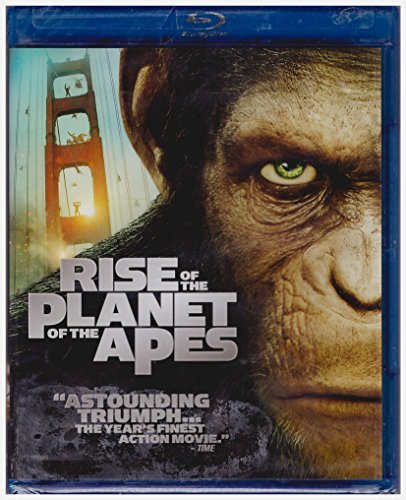 Rise Of The Planet Of The Apes Serkis Franco Single Disc Blu Ray