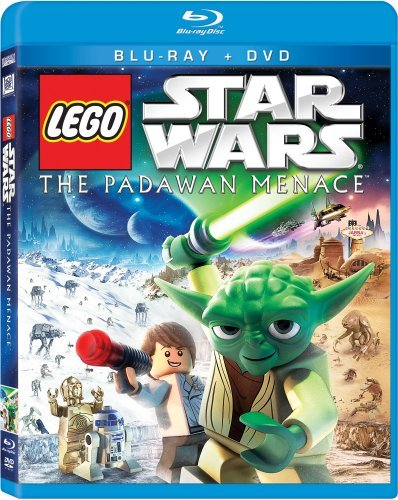 Star Wars Star Wars Lego The Padawan Menace Ws Blu Ray Nr Incl. DVD
