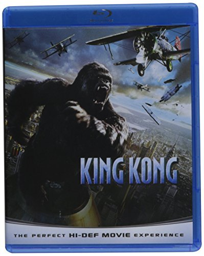 King Kong (2005) Black Watts Brody Blu Ray Ws Pg13