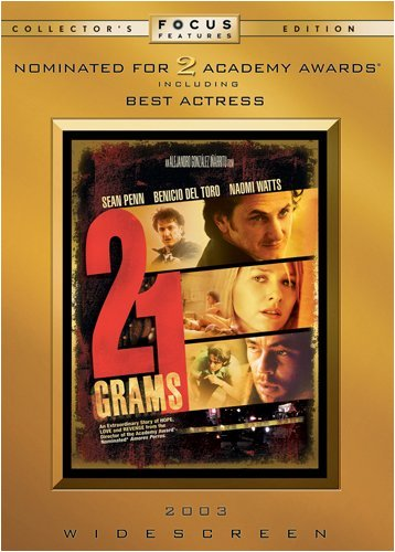 21 Grams 21 Grams Coll. Ed. Movie Cash R