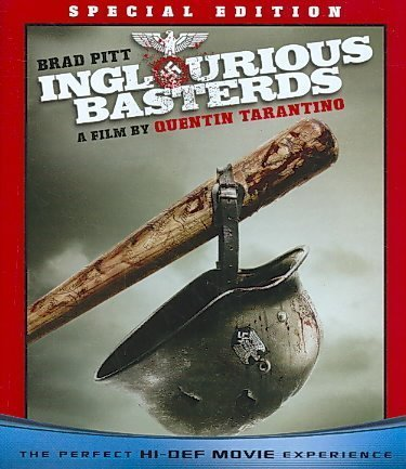 Inglourious Basterds Pitt Waltz Kruger Laurent Blu Ray R 2 Disc Edition Ws