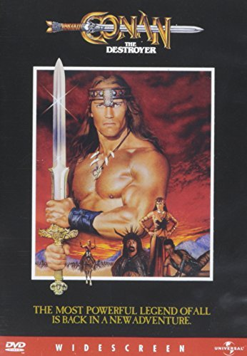 Conan The Destroyer Schwarzenegger Jones Mako DVD Pg