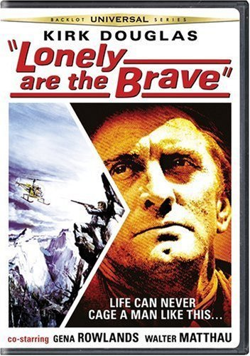 Lonely Are The Brave Douglas Matthau Rowlands Ws Nr