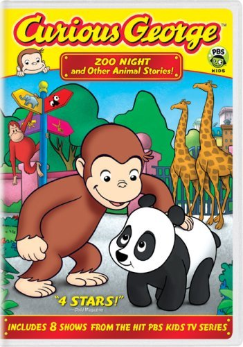 Curious George Zoo Night & Other Animal Stori Clr Nr