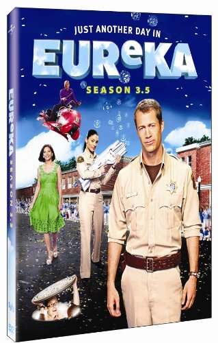 Eureka Season 3.5 DVD