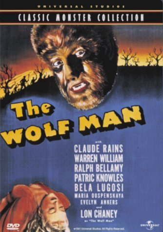 Wolfman (1941) Chaney Jr. Ankers Rains Bw Cc Dss Keeper Nr