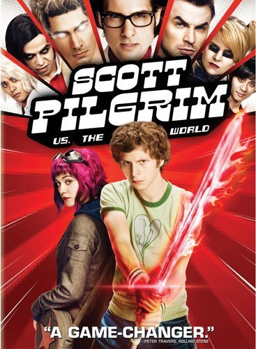 Scott Pilgrim Vs. The World Cera Winstead DVD Pg13 Ws