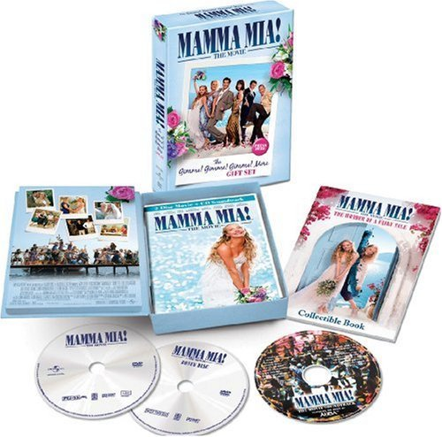 Mamma Mia Movie Gimme Gimme Gi Streep Seyfried Walters Barans Pg13 2 DVD