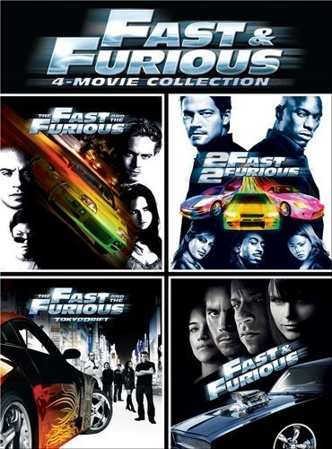 Fast & Furious 4 Movie Collect Fast & Furious 4 Movie Collect Pg13 4 DVD