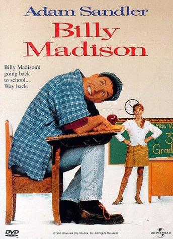 Billy Madison Sandler Mcgavin Clr 5.1 Aws Keeper Prbk 11 19 01 Pg13