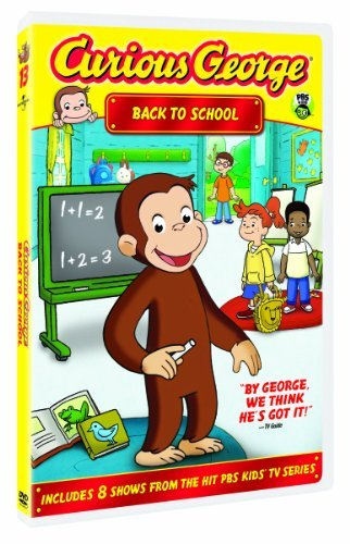 Curious George Back To School Nr