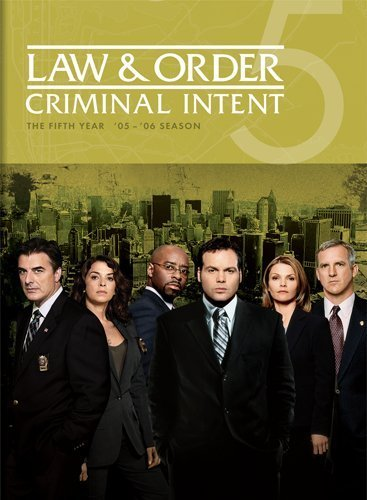 Law & Order Criminal Intent Law & Order Criminal Intent Y Ws Nr 5 DVD