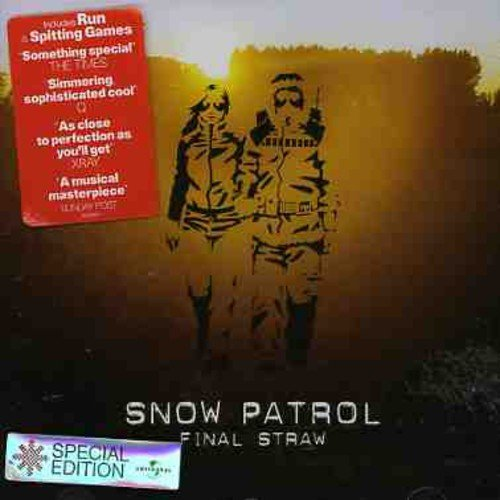 Snow Patrol Final Straw Import Gbr Incl. Bonus Tracks