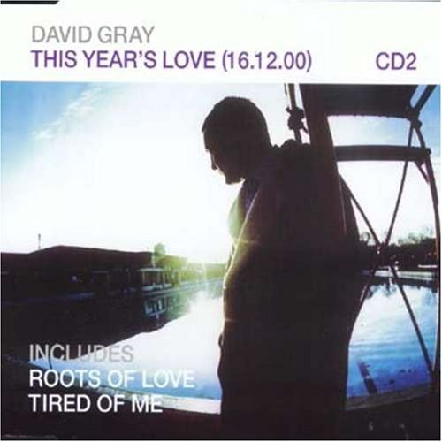 David Gray This Year's Love Import Gbr Pt. 2