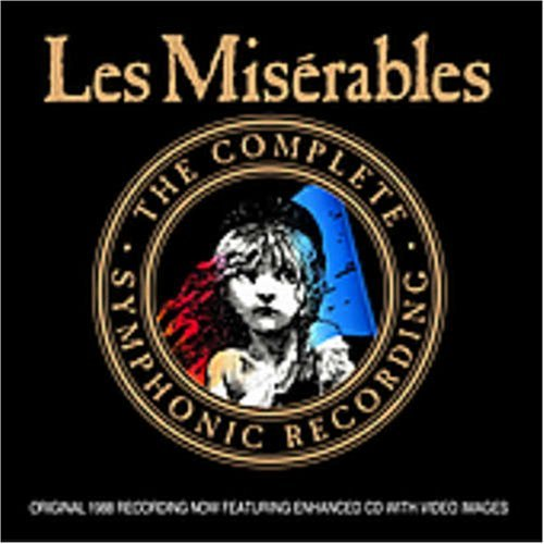 Les Miserables Complete Symphonic Recording Remastered CD Rom 3 CD