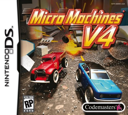 Nintendo Ds Micro Machines V4