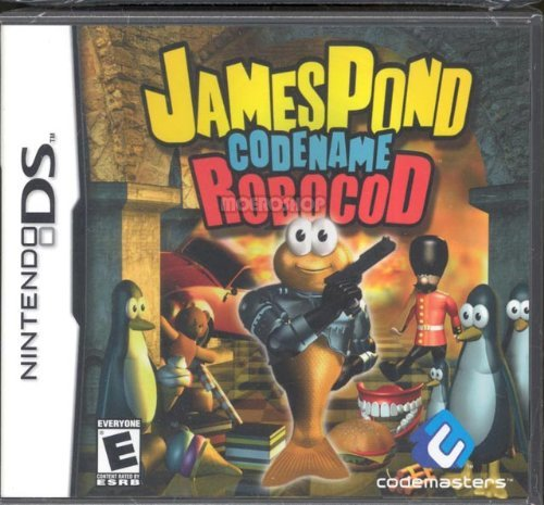 Nintendo Ds James Pond Codename Robocod