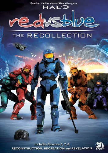 Red Vs. Blue Red Vs. Blue Recollection Col Nr 3 DVD
