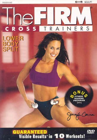 Firm Cross Trainers Lower Body Split DVD R Nr