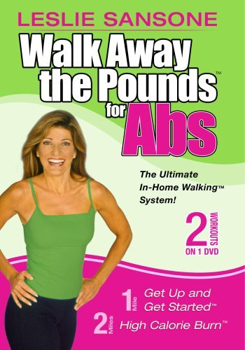Walk Away The Pounds For Abs 2 Sansone Leslie This Item Is Made On Demand Could Take 2 3 Weeks For Delivery