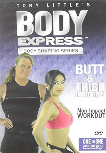 Little Tony Body Express Hip & Thigh Solut Clr Nr