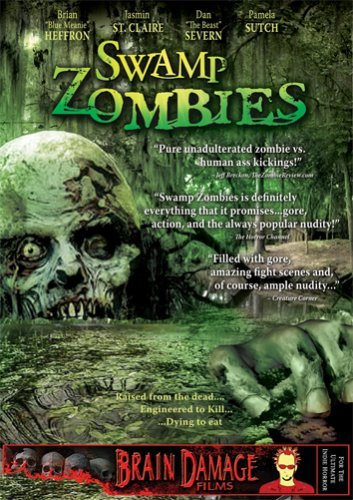 Swamp Zombies St. Claire Severn Heffron Sutc DVD Mod This Item Is Made On Demand Could Take 2 3 Weeks For Delivery