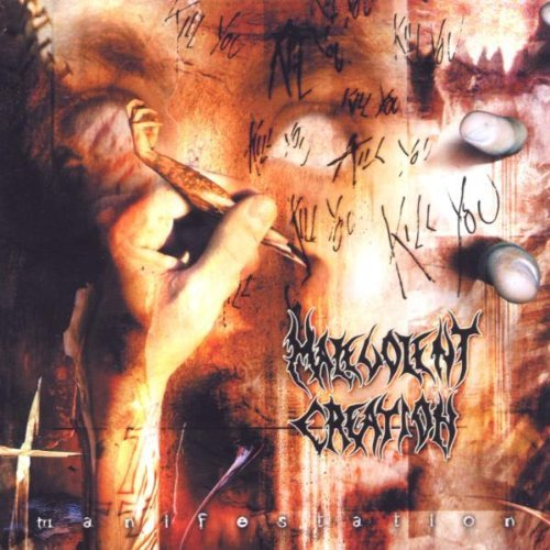 Malevolent Creation Manifestation 2 CD Set