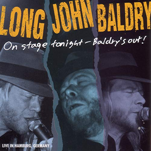 Baldry Long John On Stage Tonight Baldrys Out!