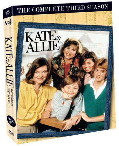 Kate & Allie Complete Third Season Import Can 3 DVD Ntsc (1)
