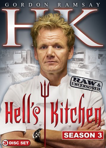 Hell's Kitchen Hell's Kitchen Season 3 Raw & Nr 3 DVD