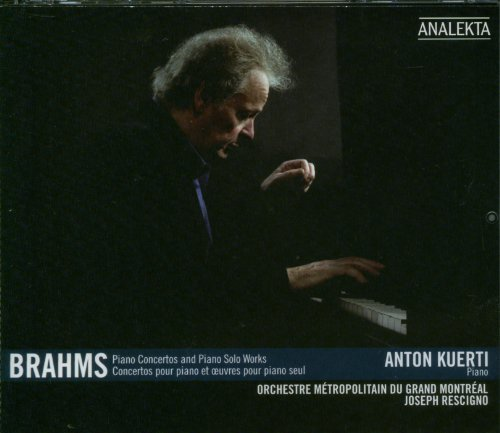 Johannes Brahms Piano Concertos & Piano Solo 3 CD Set Kuerti(pno) Rescigno Grand Montreal Met Or