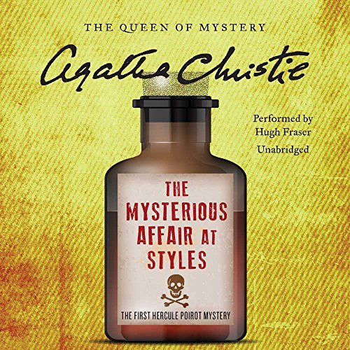 Agatha Christie The Mysterious Affair At Styles A Hercule Poirot Mystery Mp3 CD