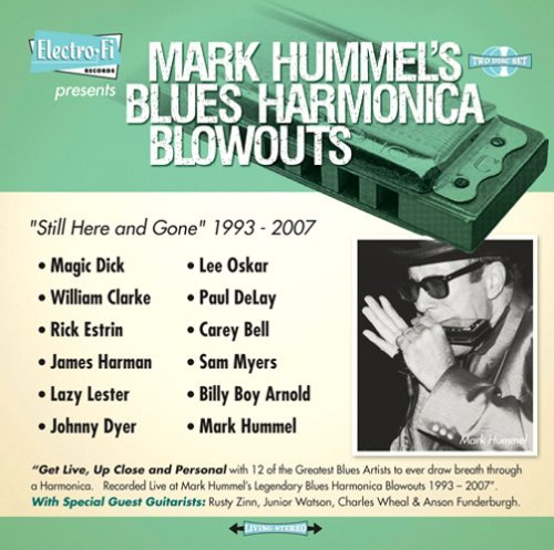 Mark Hummel Mark Hummel's Blues Harmonica 2 CD