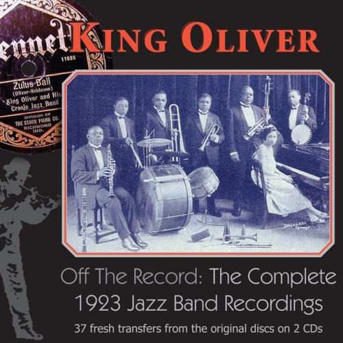 King Oliver Complete 1923 Jazz Band Record 2 CD