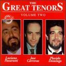 Great Tenors Vol. 2 Domingo Pavarotti Carreras