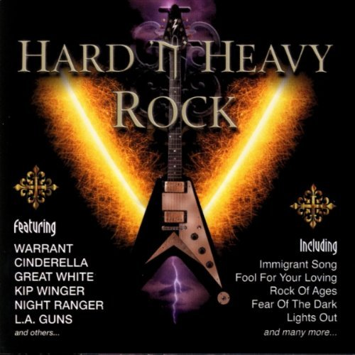 Metal Thunder Hard N Heavy Rock Warrant Great White Cinderella Metal Thunder