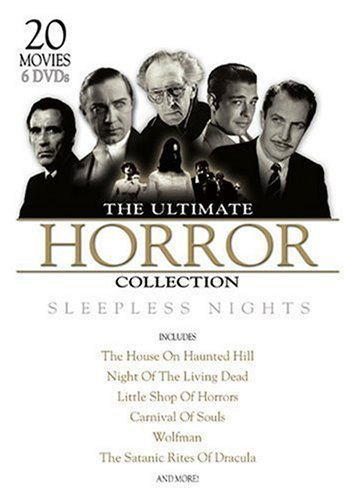 Ultimate Horror Collection Ultimate Horror Collection 6 DVD Set Slimline
