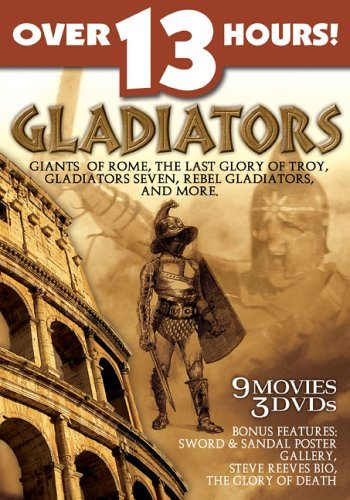 Giants Of Rome Last Glory Of T Gladiators Clr Nr 3 DVD Set