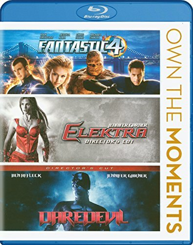 Fantastic Four Elektra Daredevil Triple Feature Own The Moments