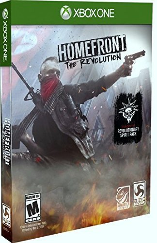 Xbox One Homefront The Revolution Steelbook (day One Edition)