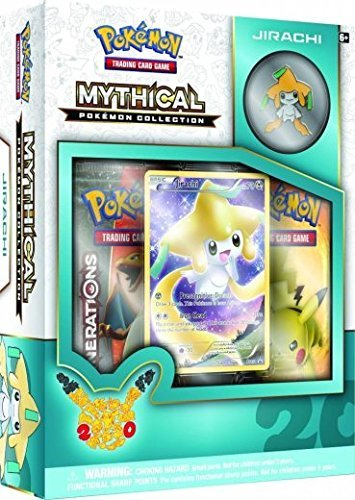 Pokemon Cards Mythical Collection Jirachi Boosters Promo Pin