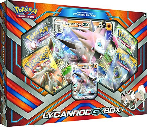 Pokemon Cards Lycanroc Gx Box