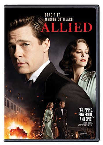 Allied Pitt Cotillard DVD R