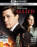 Allied Pitt Cotillard 4k Blu Ray R
